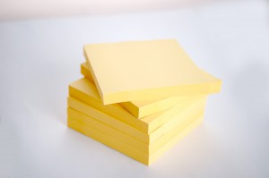 Post-it blokke